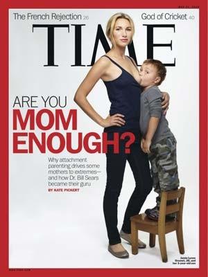 A capa da 'Time' que gerou a polêmica (Foto: AP)