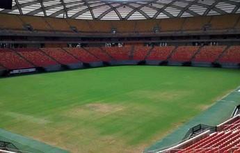 Palco das Olimpíadas, Arena AM sofre com falta de manutenção do gramado