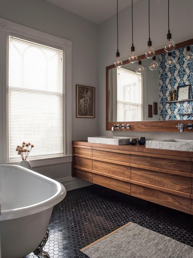 Dcor Do Dia Azulejo Portugus No Banheiro Casa Vogue