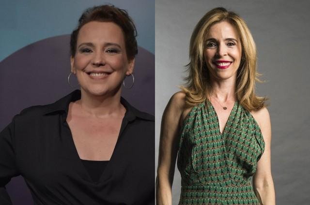 Ana Beatriz Nogueira e Deborah Evelyn (Foto: Mauricio Fidalgo e Estevam Avellar/TV Globo)