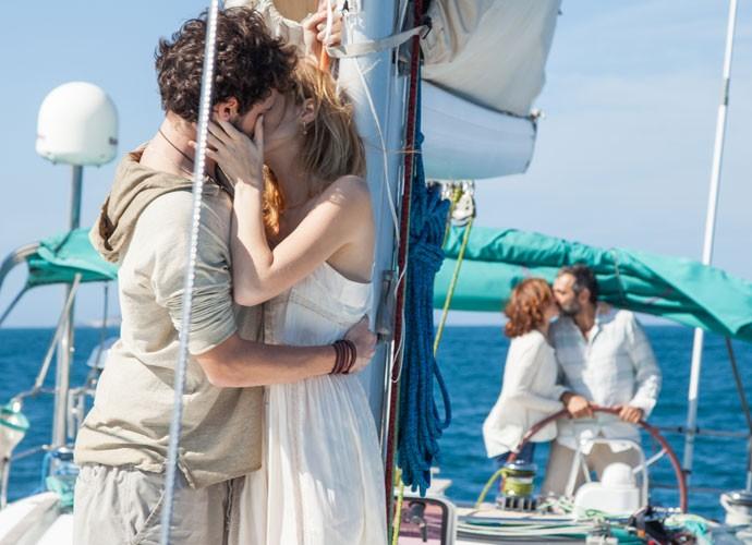 Casais seguem felizes juntos (Foto: Fabiano Battaglin/Gshow)