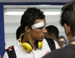 Leandro Damião após o Gre-Nal (Foto: Diego Guichard / GLOBOESPORTE.COM)