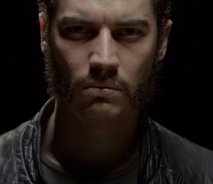 No filme Riocorrente, Lee Taylor deixou a barba crescer (Foto: Arquivo Pessoal)