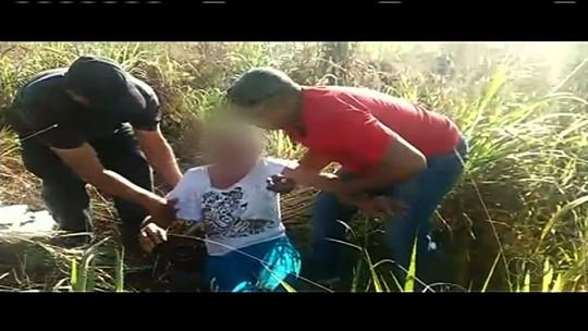 Mulher é agredida, roubada, fica 15h amarrada e é resgatada em matagal