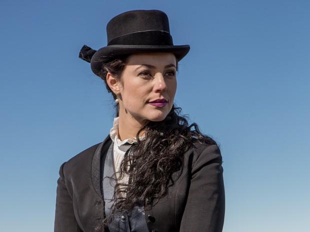 Melissa vai atrapalhar avida amorosa de Felipe, personagem de Rafael Cardoso (Foto: Fábio Rocha/Gshow)