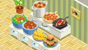 jogo de restaurante