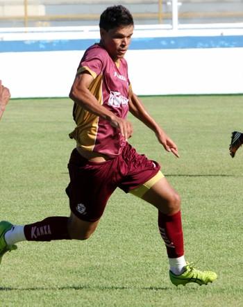 Gedeil no jogo-treino, Macaé e Boavista empatam no Moacyrzão (Foto: Tiago Ferreira)