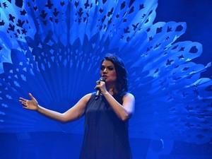 flavia bittencourt; Leve Ao Vivo no Teatro Arthur Azevedo (Foto: Meireles Jr)
