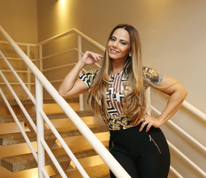 Viviane Araújo fala sobre o seu novo espetáculo (Foto: Carol Caminha/Gshow)