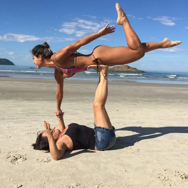 Mayra Cardi com a mãe (Foto: Reprodução / Instagram)