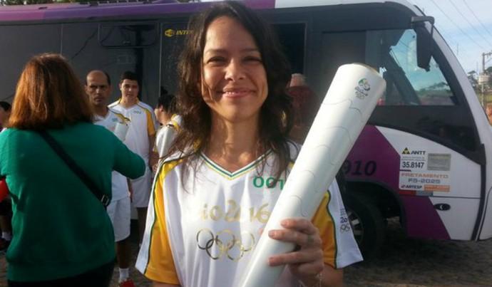 Bicas, tour da tocha, Rio 2016 (Foto: Beta Oliveira)