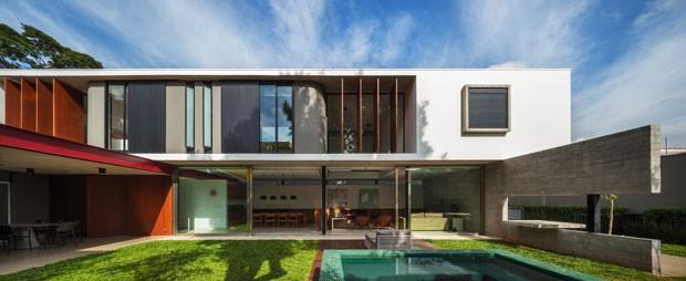 Arquitetura De Linhas Elegantes E Puras Casa Vogue Casas