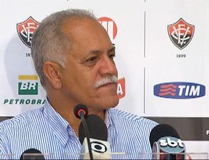 Raimundo queiroz, diretor de futebol do vitória (Foto: Imagens/TV Bahia)