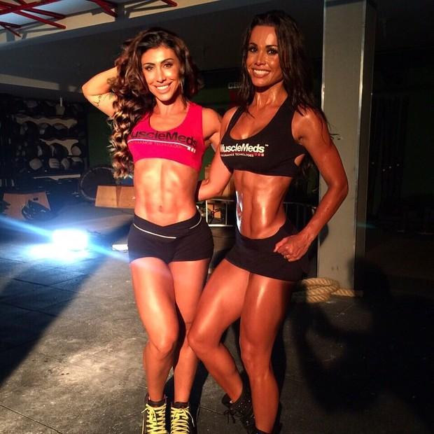 Jaque Khury e Fernanda D'Ávila (Foto: Instagram / Reprodução)
