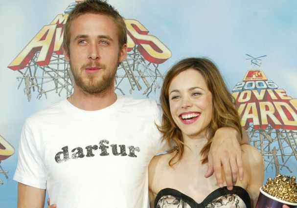 Rachel McAdams e Ryan Gosling (Foto: Getty Images)