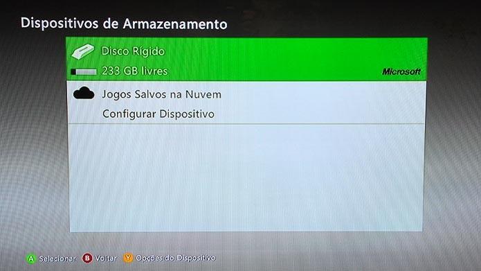 Veja como resetar as configurações do Xbox 360 e limpar o HD do console (Foto: Reprodução/Tais Carvalho)