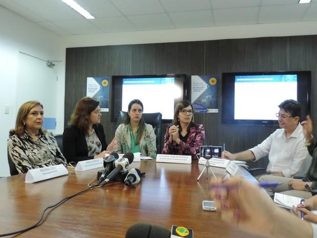 Secretaria de Saúde de Pernambuco confirma 85 casos de microcefalia nesta terça (15) (Foto: Katherine Coutinho/G1)