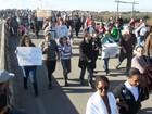 Protesto por mais segurança reúne 600 pessoas em Pedro Osório, RS