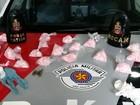 Megaoperação policial apreende munições e drogas em Marília