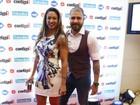 Famosos prestigiam premiação de música no Rio