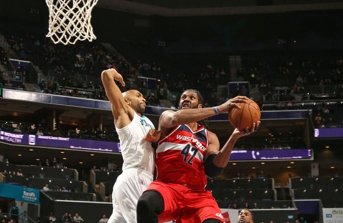 Nenê Wizards x Hornets NBA (Foto: Getty)