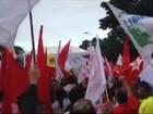 Manifestação a favor da presidente Dilma é realizada em São Luís
