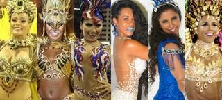 Raphaela Gomes, Luana Bandeira, Bianca Leão, Raissa Oliveira, Patrícia Nery e Evelyn Bastos (Foto: AgNews - Divulgação - Ego )