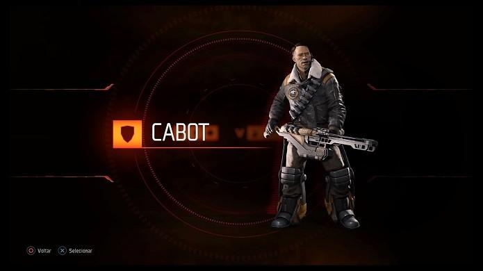 Cabot é o capitão da equipe (Foto: Reprodução/Victor Teixeira)