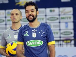 William comanda as jogadas do Cruzeiro e espera time forte até o fim da temporada (Foto: Cruzeiro/Divulgação)