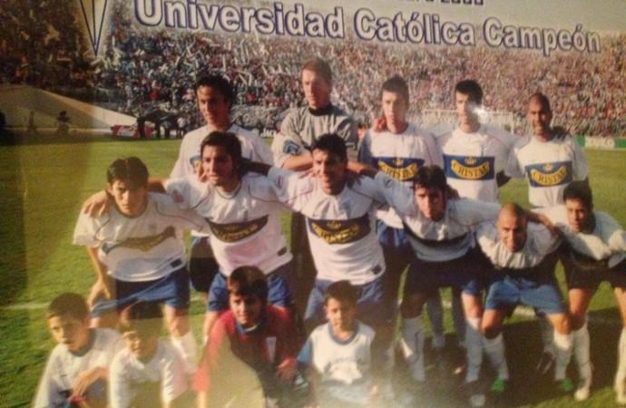 Dario Conca Universidad Católica (Foto: Arquivo Pessoal)
