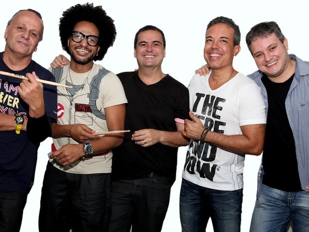 Grupo Alavontê faz show em Salavador (Foto: Felipe Oliveira/Divulgação)