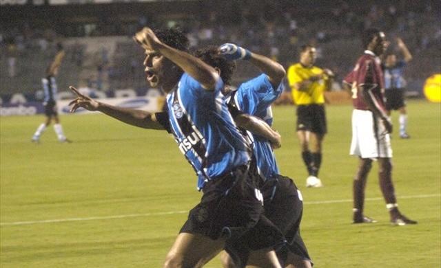 Patrício, Grêmio x Caxias, Gauchão 2007 (Foto: Divulgação / Grêmio)