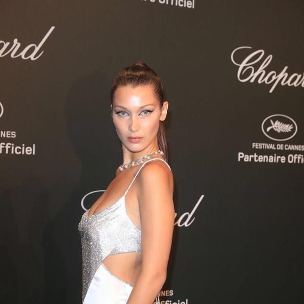 Bella Hadid em festa da Chopard em Cannes (Foto: Antonio Barros/ Divulgação)
