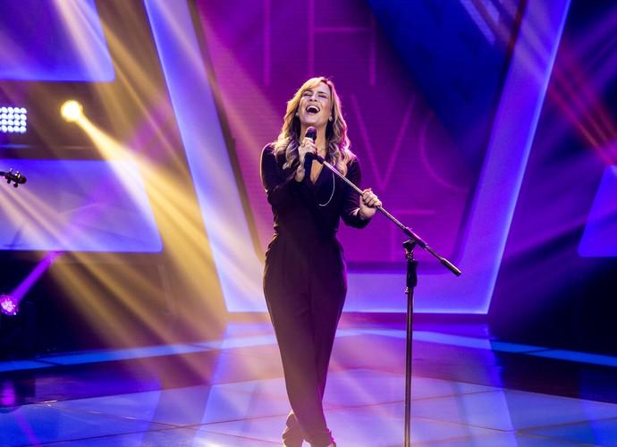Claudia Leitte solta a voz em quarta noite de Audições (Foto: Isabella Pinheiro/Gshow)