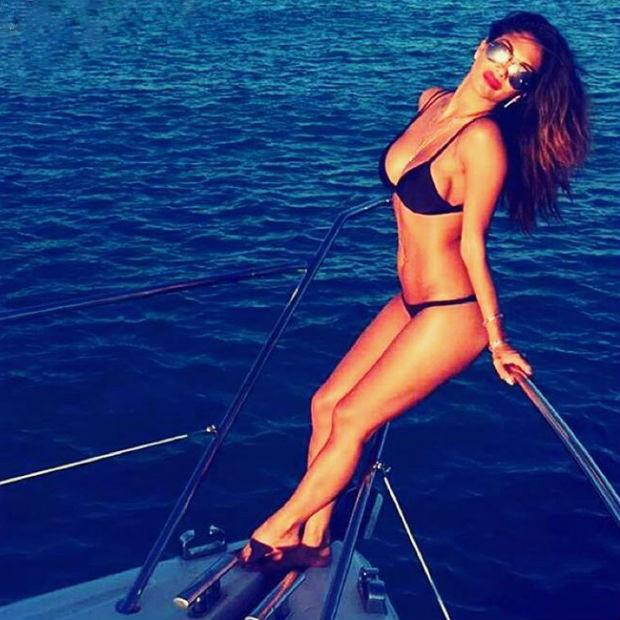 Nicole Scherzinger, o melhor motivo para ir a Ibiza (Foto: Reprodução/Instagram)