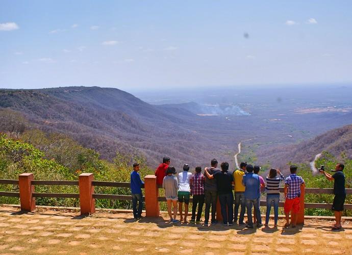 Vista do Mirante, em Portalegre (Foto: Lidiane Medeiros / Divulgação)