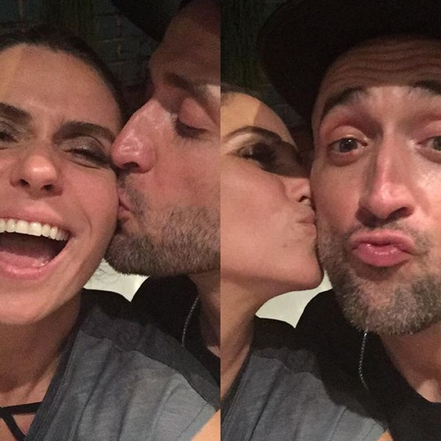 Giovanna Antonelli e Paulo Gustavo em festa (Foto: Instagram/ Reprodução)