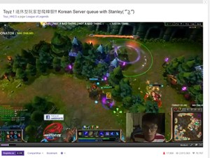Transmissão de partida de 'League of Legends' pela plataforma ao vivo Twitch (Foto: Reprodução/Twitch)