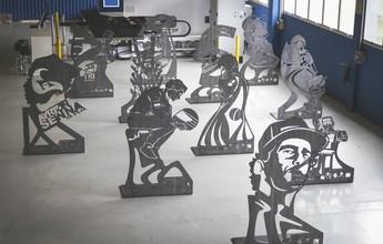 Nos 25 anos do tri, Senna terá museu a céu aberto com 11 estátuas em SP