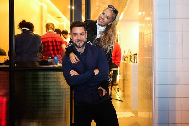 Adriane Galisteu e o marido Alexandre Iodice (Foto: Manuela Scarpa/ Brazil News)