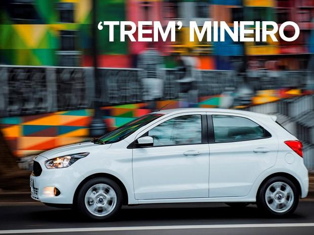 Ford Ka foi o carro mais vendido em 2015 em Minas Gerais (Foto: Divulgação)