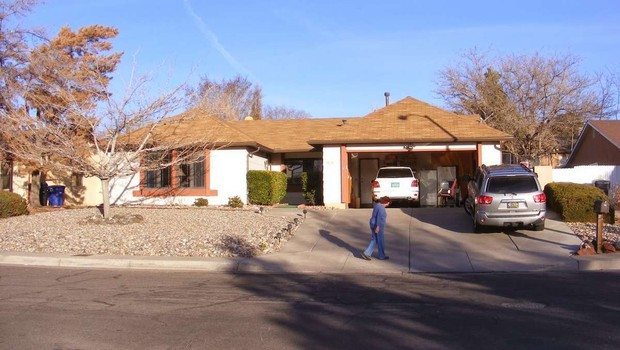 A casa de Walter White (Foto: Reprodução/Pinterest)