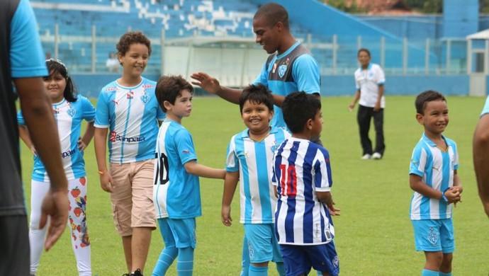 Paysandu, Dia das Crianças (Foto: Ascom Paysandu)