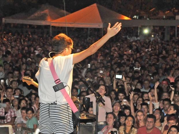 A cantora Maria Gadú foi uma das atrações da última edição do festival (Foto: Valerio Zelaya/Secom Palmas)
