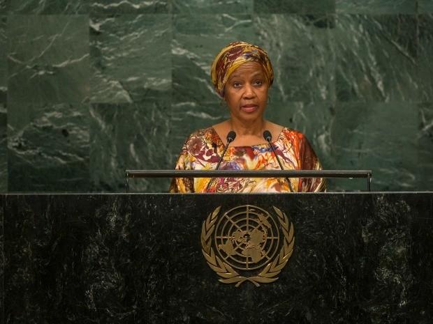 Diretora-executiva da ONU Mulheres, Phumzile Mlambo-Ngcuka (Foto: Cia Pak)