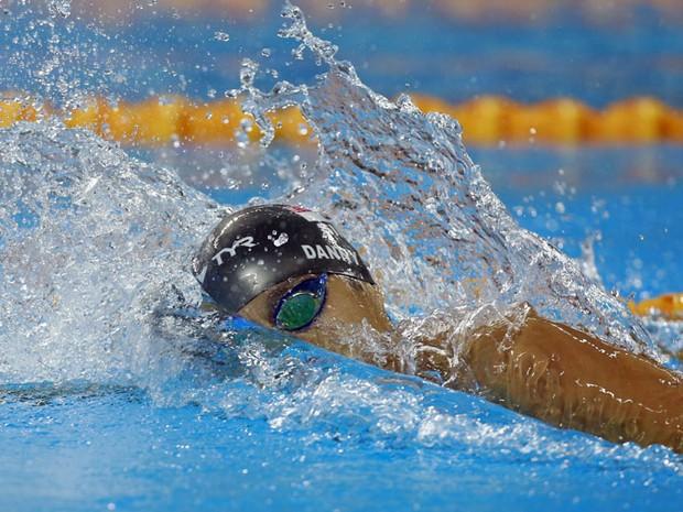 Projeto Jorge Abuud conquista pódio triplo na natação Natacao
