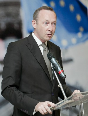 Cônsul Geral da Bélgica em São Paulo, Didier Vanderhasselt (Foto: Su Stathopoulos / Divulgação)