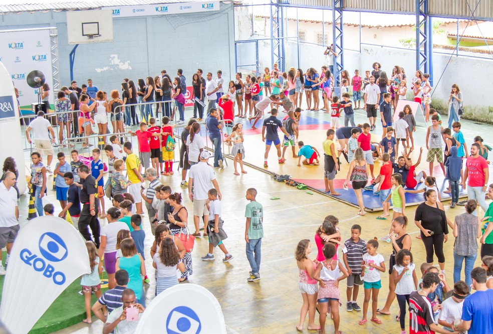 Atividades físicas oferecidas pela Rede Globo serão gratuitas e para todas as idades (Foto: Divulgação/Globo)