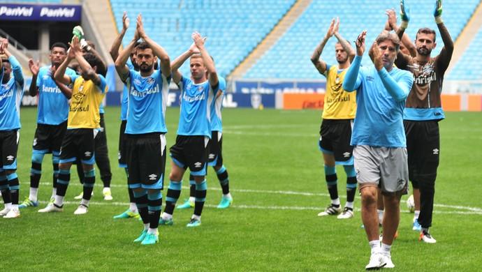 Grupo Renato Grêmio torcida treino (Foto: Wesley Santos/Press Digital)