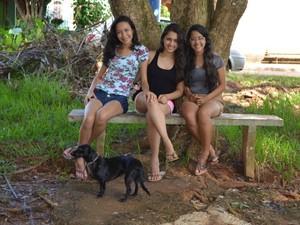 Amigas visitam local com frequência (Foto: Magda Oliveira/G1)
